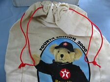 Texaco Havoline Racing Speedy Bear Cloth Drawstring Bag - 4th Edition 2000