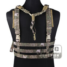 Emerson Tactical MOLLE Chest Rig Lightweight High Speed Vest w/ QD Bungee Sling