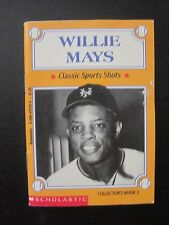 WILLIE MAYS Classic Sports Shots Collector Book #3 NY - San Francisco Giants