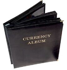 Banknotes Album For Large Notes 3 Pockets Currency Collection Free Shipping USA