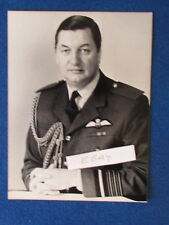 "Original Press Photo - 8""x6"" - Air Chief Marshal Sir Peter Harding - 1986 - RAF"
