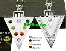 Powerful Quantum Bio Scalar Energy Pendant Necklace Balance Magnetic 4in1 Power