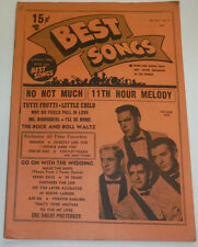 Best Songs Magazine The Four Aces & Rock And Roll Waltz Vol XVI No.3 120614R