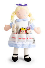North American Bear Co Dolly Pockets Alice In Wonderland And 3 Finger Puppets