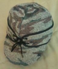 King of the Mountain Railroad Cap, Size S, Timber Camo, Wool, NEW, Made in USA