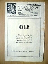 Opera House, Manchester 1946- KANDAL~LES PATINEURS/SYMPHONIC VARIATIONS/MIRACLE