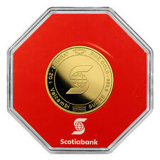 1 oz Scotiabank Gold Round - With Assay Card - SKU #45427
