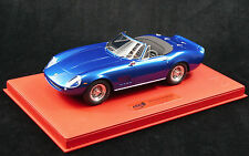 1/18 BBR FERRARI 275 GTS/4 NART STEVE MCQUEEN RED DELUXE LEATHER LE 10 PC N MR
