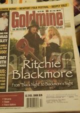 BLACKMORE'S NIGHT - Goldmine Magazine April 2005 - Ritchie Deep Purple