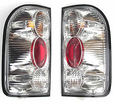 NEW TOYOTA Hilux 2002-2005 Rear tail right + left signal lights lamps set White