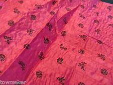 "Hot Pink Quilted Satin Apparel Fabric 2-1/2 yards X 45""  # 1045"
