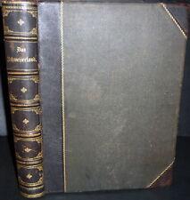 1877 Illustrated Switzerland Journey Folio, DAS SCHWEIZERLAND. Eine Sommerfahrt,