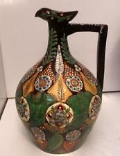 Superbe vieux thoune, thoun swiss art pottery jug pitcher!