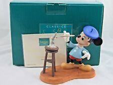 "WDCC ""Creating A Classic"" Mickey Mouse 10th Anniversary in Box with COA"