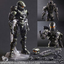 "HALO 5 GUARDIANS Master Chief Play Arts Kai Action Figure 11"" New In Box Chn Toy"
