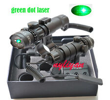 US Green Dot Laser Sight 20mm Rail&Remote Switch For Rifle Gun Scope Hunting