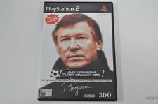 ALEX FERGUSONS PLAYER MANAGER 2001 - PlayStation 2 Game - Sony - PAL - PS2 - CIB
