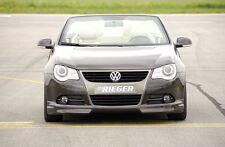 Rieger Frontspoilerlippe für VW Eos 1F bis Facelift