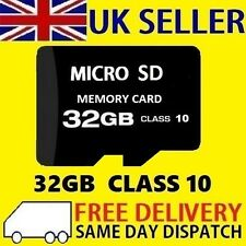 32GB Micro SD Card Class 10 TF Flash Memory SDHC SDXC - 32G - NEW UK