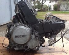 DUCATI 750 MONSTER ENGINE BREAKING FOR PARTS / CARBURETOR MODEL / ZDM748