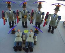 LOT OF 6 INSPECTOR GADGET ACTION FIGURE DOLL MCDONALDS HAPPY MEAL TOY PARTS