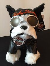 Harley Davidson Motorcycle Sprocket Boston Terrier PlushToyKidsPreferred KP20284