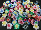 DIY Mixed Polymer Fimo Clay Flower Spacer Loose Beads 10/20/50/100pcs Craft