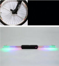 PC Programmable Wireless LED Custom Message Bike Bicycle Motor Wheel Tire Lights