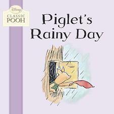 Piglet's Rainy Day (Disney Classic Pooh)-ExLibrary