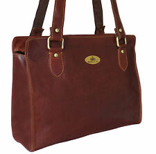 50% OFF Rowallan Women's Brown Leather Shoulder Bag