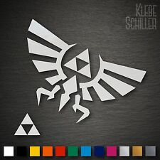 21002 Zelda Triforce Hyrule 3DS Sticker Set 105x65mm Decal Aufkleber Nintendo