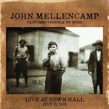 John Mellencamp-performs Trouble No More Live at Town Hall CD NUOVO