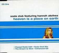 SODA CLUB FEATURING HANNAH ALETHEA Heaven Is A Place On Earth CD 4 Track Pascal