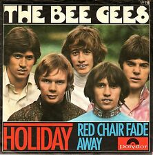 """7"""" Bee Gees – Holiday / Red Chair Fade Away // Rare Germany 1967"""