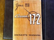1958 Cessna 172 Owner's Manual