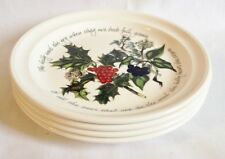 NEW Portmeirion The Holly and The Ivy Salad Plates x 4 - UNUSED