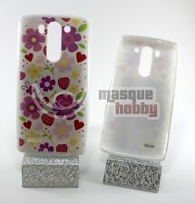 Funda Carcasa Blanda Gel LG Optimus G3 Mini D722 D725 Corazones Flores Multi NEW