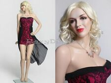 Sexy Female Fiberglass Mannequin Marilyn Monroe Style Dress Form #MZ-MONROE3