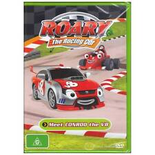 DVD ROARY RACING CAR MEET CONROD THE V8 AUSSIE MATE TV 6EPISODE ANIMATION [BNS]