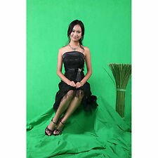 Square Perfect 10 Ft X 20 Ft Chromakey Green Screen Muslin Photography / Video