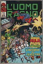 L' UOMO RAGNO corno # 83 L' INSIDIA DI ELECTRO hulk dottor.strange