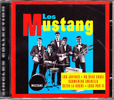 CD los MUSTANG singles collection BEATLES cover BEAT freakbeat SPAIN 1999 MINT