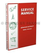 Jeepster Shop Manual 1967 1968 1969 1970 1971 Commando Jeep Repair Service Book