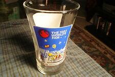1982 Worlds Fair Commemorative Souvenir Glass McDonalds Coca-Cola Knoxville, Tn