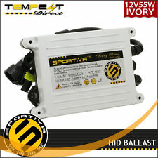 Sportiva HID Xenon 55 Watt AC Ivory Digital Replacement Ballast - 1 Pair - 2pcs
