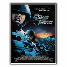 STARSHIP TROOPERS METAL SIGN WALL PLAQUE Retro Film Movie Advert poster reprint
