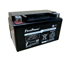 (1) FirstPower YTX7A-BS for Go Cart Moped ATV Scooter 12V 6AH Battery