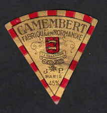 Ancienne petite  étiquette Fromage  Suisse BN7231 Camembert