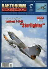 "Fighter Lockheed F-104G ""Starfighter"" - Paper Card Model Scale 1/33"