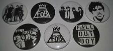 7 Fall Out Boy Button pin badges 25mm American Beauty Psycho Save Rock and Roll